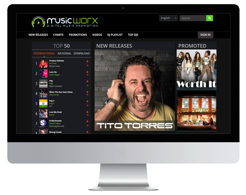 Music promotion services, musicworx, music worx, djworx, musicworks, djworks, label promotion, promote your music online, music distribution, deejayworks, DJ download, virtual DJ, music marketing, music promotion site, DJ music pool