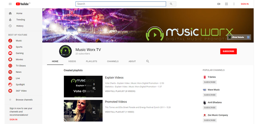 youtube, best music promotion services, how to promote music, where to promote your music
